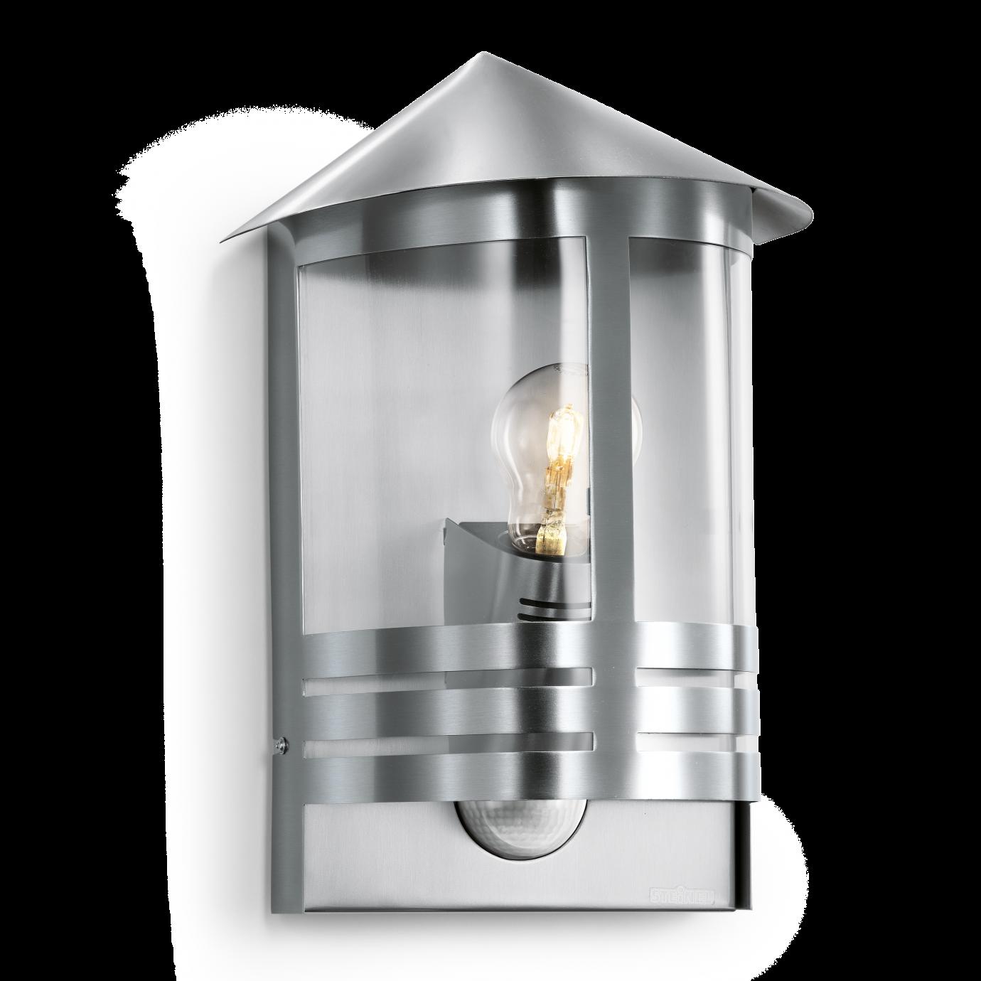 Steinel Lampa Z Czujnikiem Ruchu L 170 S 100w E27 Stal Nierdzewna St645311