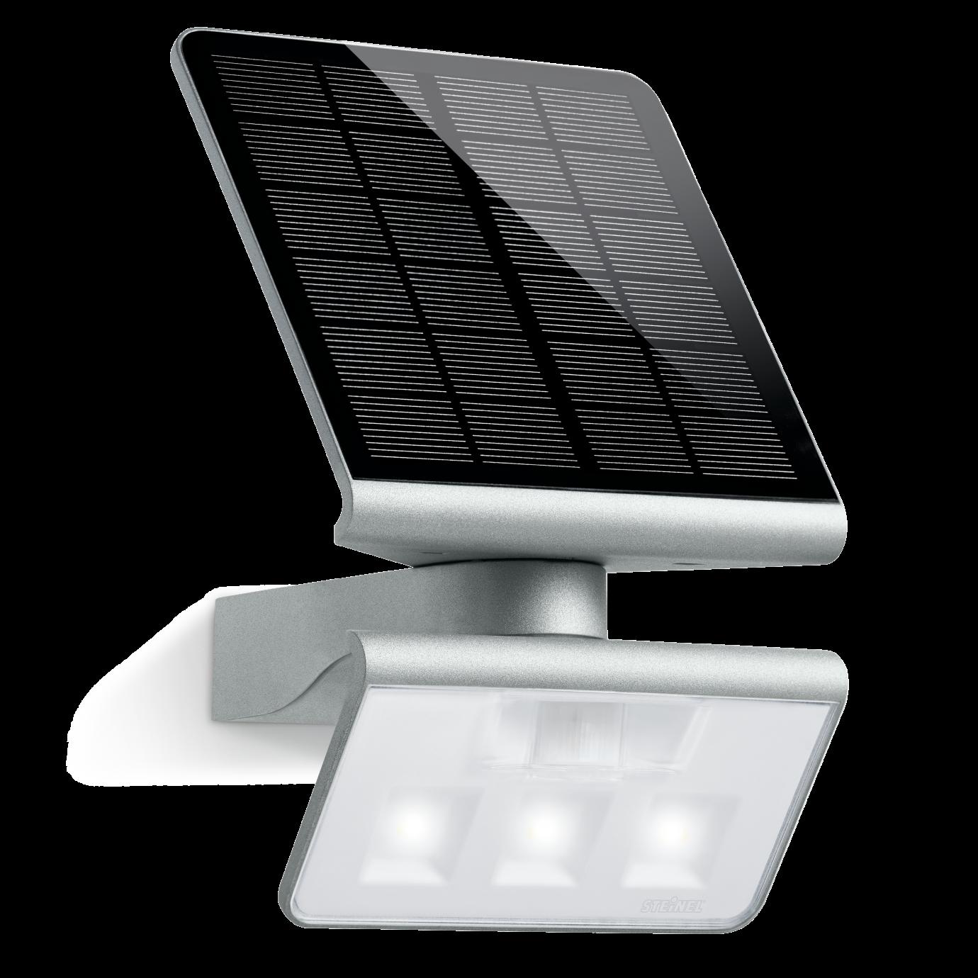 Steinel Lampa Solarna Led Z Czujnikiem Ruchu Xsolar L S 12w 4000k Srebrna St671013