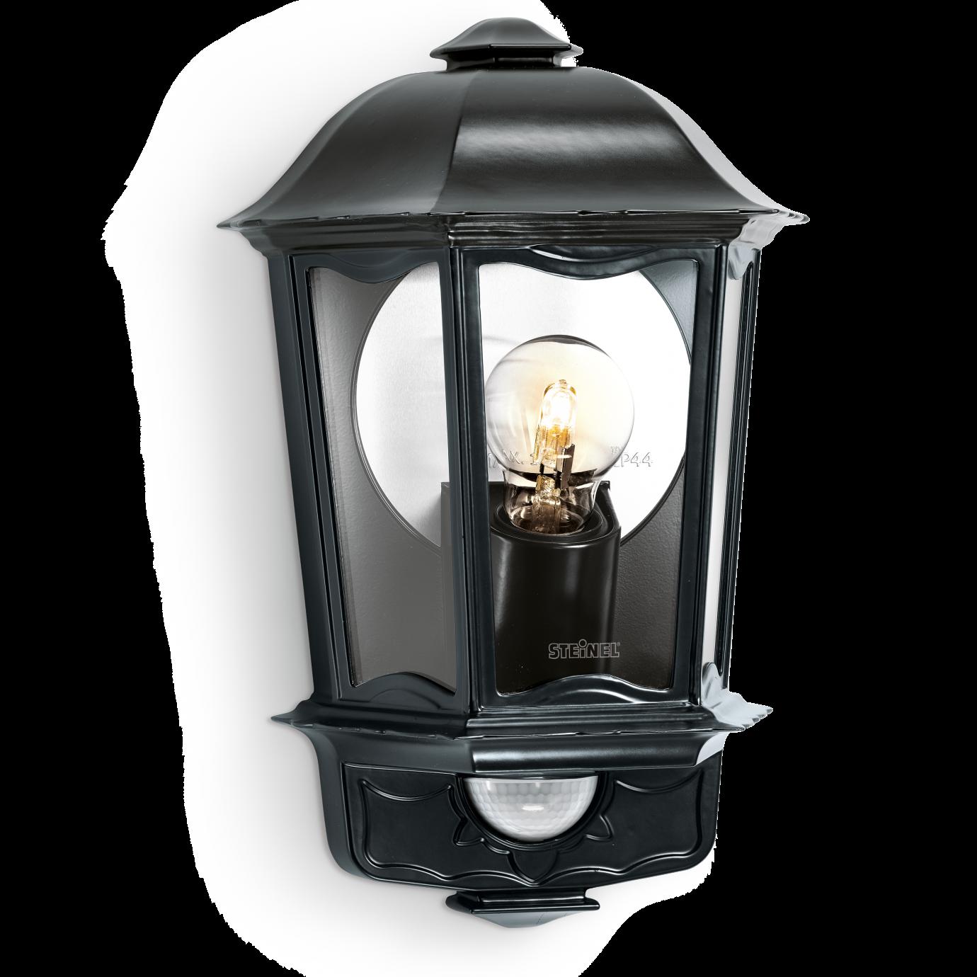 Steinel Lampa Z Czujnikiem Ruchu L 190 100w E27 Czarna St644413